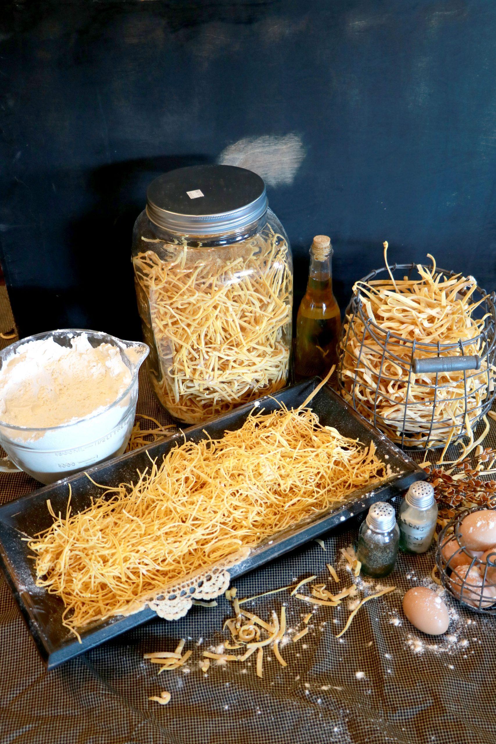 homemade egg noodles  1lb bag  dutch country sweets